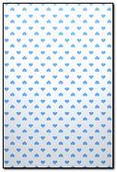 Blue Hearts Pattern