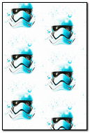 Splattered Storm Trooper Helmet
