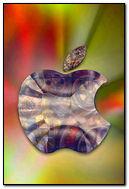 Mechanical Glass Apple