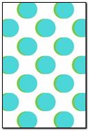 Blue Green Big Dots