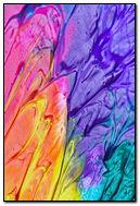 Smeared Paint Colors