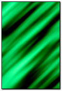 Green Curtain Gradient