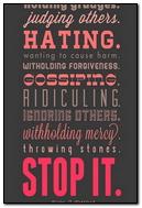 Stop It!