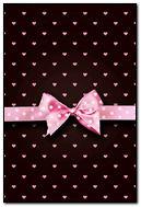 Pretty Pink Polkadot Bow