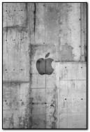 Concrete Apple Logo