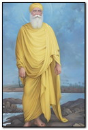Guru Nanak Dev Jee Near Water