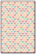 Multicolour Hearts 3