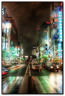 Light Full Busy City
