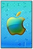 Apple Honeycomb Blue