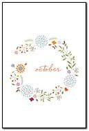 October Flower Ring