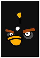 Black Bird Angry Birds