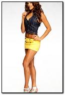 Yellow Skirt Girl