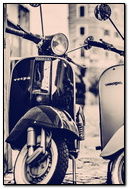 Vespa Scooter Oldschool