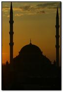 Sunset Sky Mosque
