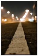 White Straight Line