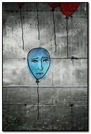 Sad Blue Balloon