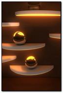 3D Golden Spheres