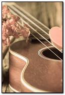Vintage Pin Guitar