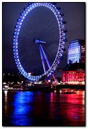 Blue London Eye