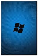 Windows Os Blue Black Flag Logo 26520 720x1280