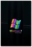 Windows 7 Rainbow Black Blue Green 31038 720x1280