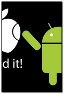Apple Android White Green Text 30876 720x1280