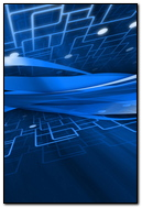 Abstract Schematic White Blue Line 26311 720x1280
