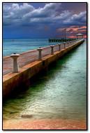 Bridge Crossing The Sea