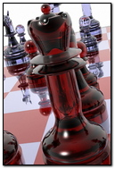 Chess Board Pieces Glass 68402 720x1280