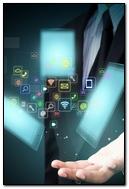Tablet Smart Phone Hi Tech Icons Hand 96123 720x1280