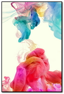 Abstract Colorful Ink