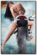 Girl On Ducati