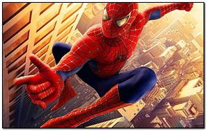 Flying Spider Man