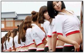 Formula One Korean Show Girl