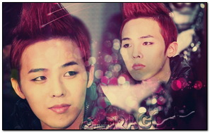 G Dragon Red Hair