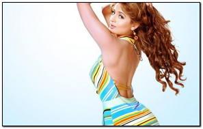 Amisha Patel Colourful Bikini