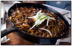 Korean Black Noodles
