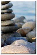 Beach Rock Zen Macro