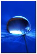 Blue Big Water Drop