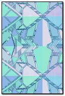 Hipster Pattern Blue