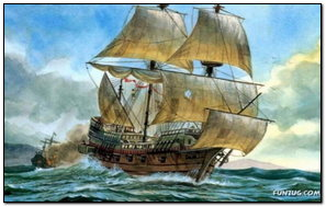 Amazing Painting Of Ship
