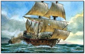 Amazing Painting Of Ship