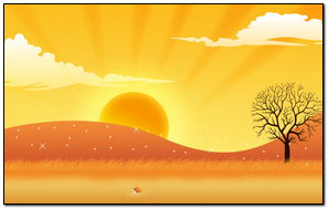 Zachód słońca 136