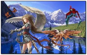 Dark Angel Và Sự Trở Lại Của Rồng