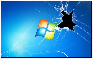 Cracked Windows Screen