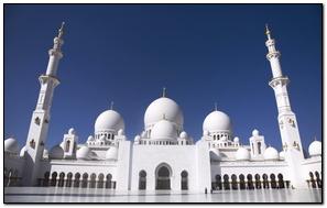 Clean White Mosque