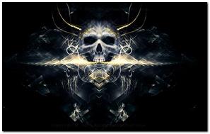 Crâne électro