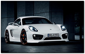 2014 Techart Porsche Cayman Wide