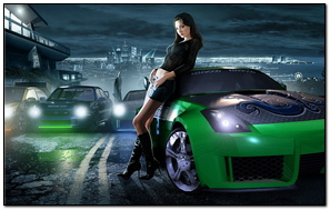 Wallpaper Need For Speed Underground 2 Wallpaper