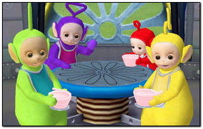 Teletubbies Sitting